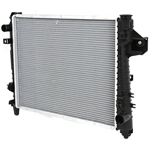 Diften 109-A1642-X01 - New Radiator Dodge Ram 1500 Truck 2003 2002 2500 3500 CH3010281 52028830AF (04 Dodge 1500 Radiator compare prices)