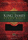 KJV Study Bible, Large Print, Bonded Leather, Black, Red Letter Edition: Second Edition