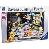 Ravensburger 19150 - Gelini: Nachts im Büro - 1000 Teile Puzzle