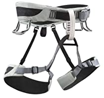 Black Diamond Momentum AL Climbing Harness with FREE Climbing DVD ($30 Value) (Cool Gray, Large)