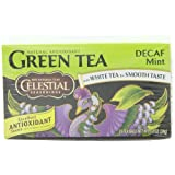 Celestial Seasonings Green Tea, Decaf Mint, 20-Count Tea Bags (Pack of 6)