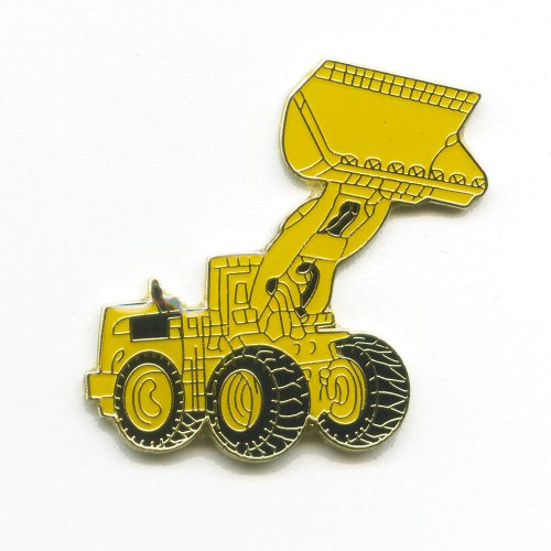 Radlader Trax Baumaschine Frontlader Caterpillar Badge Pin Anstecker 0328