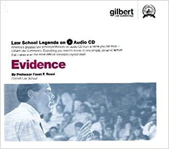 Evidence (Law School Legends Audio Series)