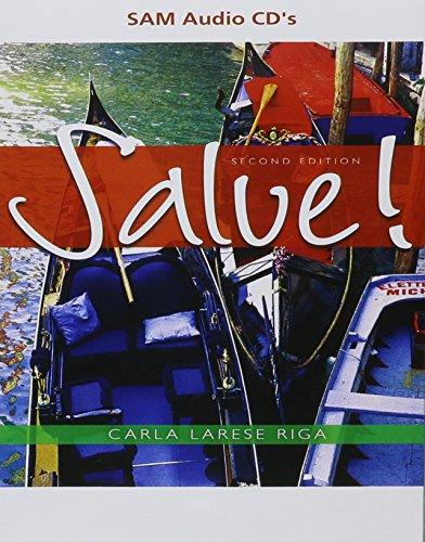 SAM Audio CD-ROMs for Riga's Salve! (Salve Italian compare prices)