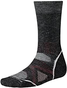 Smartwool NEW Women's PhD Medium Crew ReliaWool, Charcoal size S