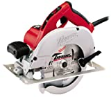 Milwaukee 6391-21 15 Amp 7-1/4-Inch Circular Saw with Blade on Left