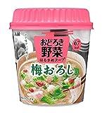 アサヒF&H おどろき野菜 梅おろし 21.3g×6個