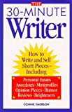 img - for The 30-Minute Writer book / textbook / text book