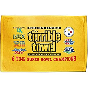 Pittsburgh Steelers 6X Super Bowl Champions Terrible Towel