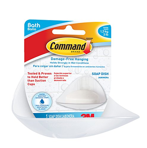 command-bath14-es-soap-dish-with-2-mounting-bases-and-2-medium-strips-white