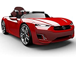 Introducing The Henes Broon F8 Premium Kids Electric Ride On Car (Red)