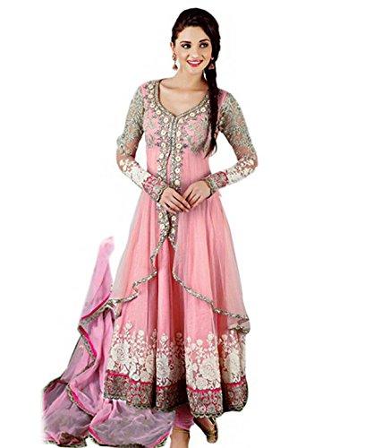 Rozdeal Women Chiffon Salwar Suit Dress Material (Rdhp102-7006