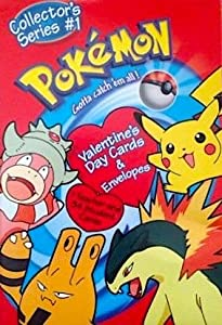 Pokemon Valentines Cards Collectors Series #1 Includes 34 student cards & 1 teacher card with envelopes