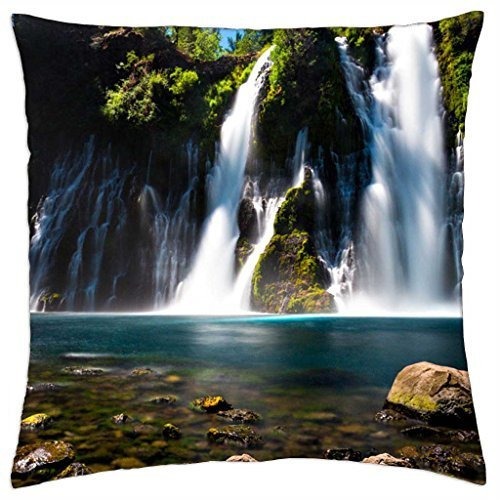 burney-falls-north-california-throw-pillow-cover-case-18-x-18