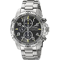 Seiko SSC307 Core Solar IP Steel Bracelet Men's Watch