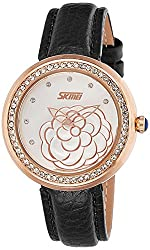 Skmei Analog Multi-Colour Dial Womens Watch - 9087BGOW