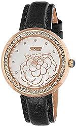 Skmei Analog Multi-Colour Dial Womens Watch - 9087BGOW
