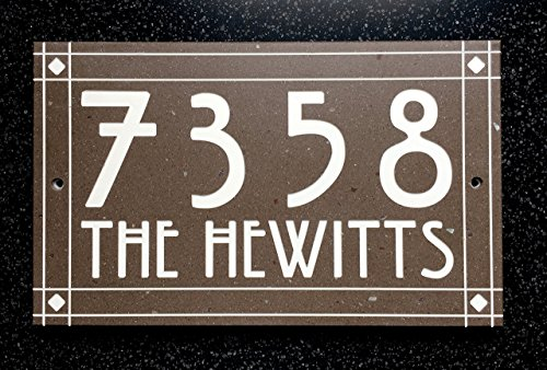 Craftsman Style Address Sign (Craftsman Address Numbers compare prices)