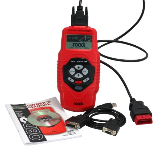 Roadi RDT61 OBD2 Diagnostic Trouble Code Reader with Live Engine Data and Freeze Frame Capability