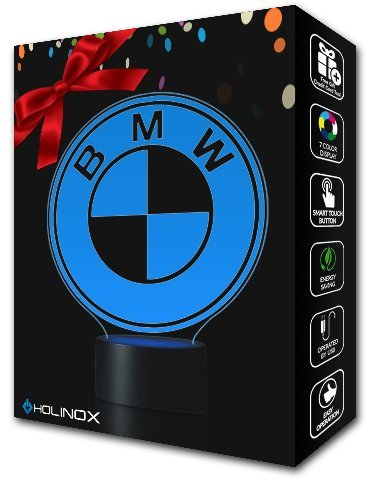 BMW Lighting Decor Gadget Lamp Awesome Gift + FREE 2 BONUSES, Sticker Decor + MULTI PURPOSE CREDIT CARD = Best Set (MT032) By Holinox (Bmw E34 Cold Air Intake compare prices)