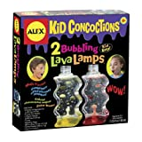ALEX® Toys - Experimental Play Kid Concoctions 2 Bubbling Lava Lamps -Science Kit 969 by Alex Toys
