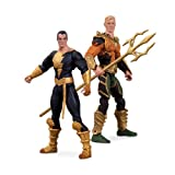 DC Collectibles Injustice Aquaman vs. Black Adam Action Figure, 2-Pack