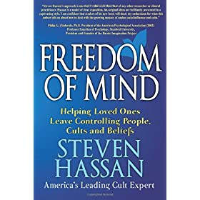 Learn more about the book, Freedom of Mind: Helping Loved Ones Leave Controlling People, Cults, and Beliefs