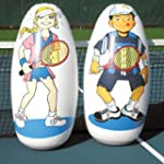Tennis Inflatable Knockdown Targets -...