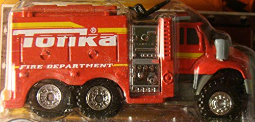 Tonka Metal Diecast Bodies First Responders TOUGH CAB FIRE PUMPER - 1