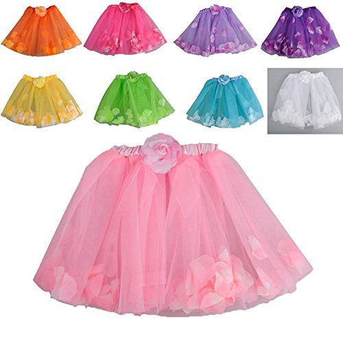 Stylish Girls Kids Tutu Party Ballet Dance Wear Dress Skirt Pettiskirt Costume