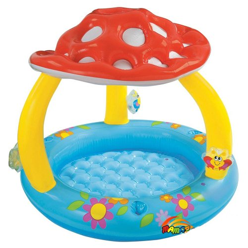 Intex Mushroom Inflatable Baby Pool, 40