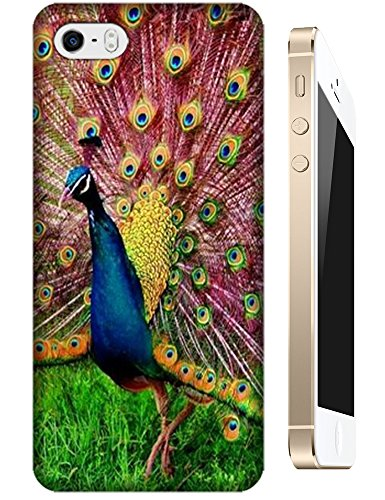 Images for Beautiful Animal Birds Peacock Peafowl Fly Fashion Design Cell Phone Cases Hard Back Case Cover For iPhone 5/5S No.12