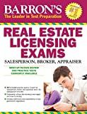 img - for Barron's Real Estate Licensing Exams, 10th Edition (Barron's Real Estate Licensing Exams: Salesperson, Broker, Appraiser) book / textbook / text book