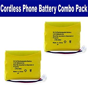Sanyo 23620 Cordless Phone Combo-Pack includes: 2 x EM-CPB-400C Batteries