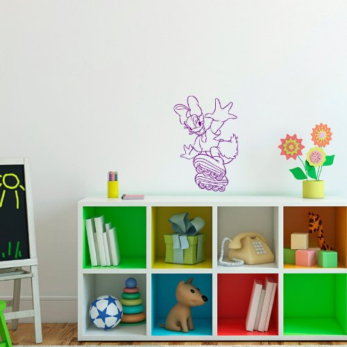 Housewares Wall Vinyl Decal Cartoon Duck Nursery Room Art Decor Removable Stylish Sticker Mural Unique Design For Any Room 156 front-1002691
