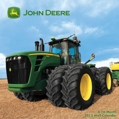 Cheap (12x12) John Deere 16-Month 2012 Calendar