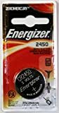 Energizer CR2450 Lithium Battery, 3v ECR2450, Qty:6