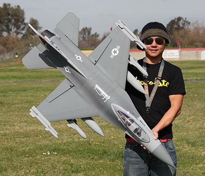 The Ultimate Weapon! 7 CH 2.4GHz BlitzRCWorks Super BZ-16 EX V2 3D Vector Thrust Aerobatic Radio Remote Control Electric Ducted Fan RC Fighter Jet RTF w/ Super Performance! Super Scale! Vector Thrusting! 70mm EDF!