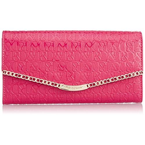 [ピンキーアンドダイアン] Pinky&Dianne チェーントリム 薄型長財布 PDLW5ET2 48 (ピンク)
