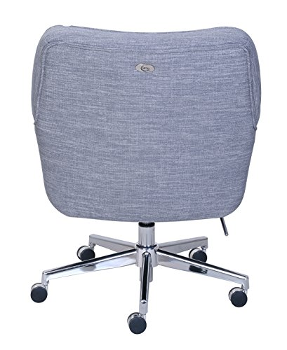 "Serta ""Ashland"" Winter River Gray Home Office Chair 4"