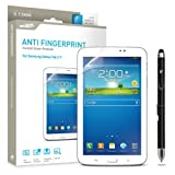 Samsung Galaxy Tab 3 Screen Protector 7 Sentey® Anti Fingerprint Invisible Tablet 0.13mm Ls-13222 Bundle with Free Metal Stylus Touch Screen Pen {Lifetime Warranty}