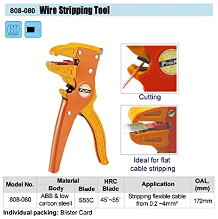 808-080 Wire Stripping Tool (172mm)