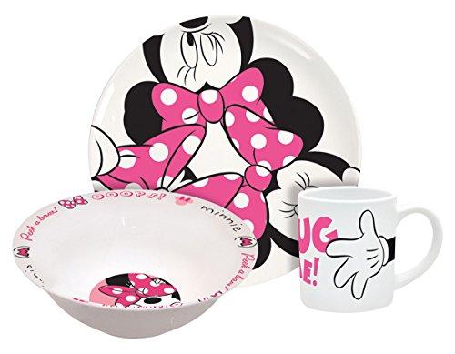 Disney Minnie Hug Me 3-Piece Dinnerware Set - 1