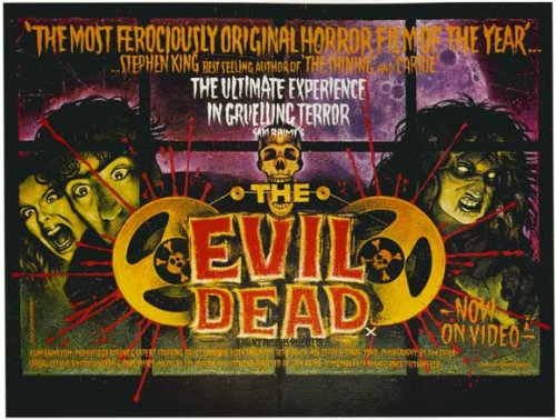 (27x40) The Evil Dead Horizontal Movie Poster @ NiftyWareHouse