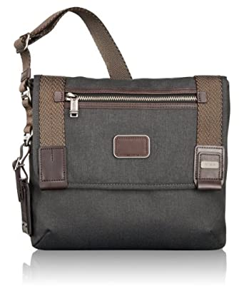 (大跌)Tumi 阿尔法系列男士通勤包Alpha Bravo DayMessenger Bag Anthracite $156