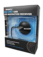 GlobalSat BU-353 USB GPS Navigation Receiver by GlobalSat