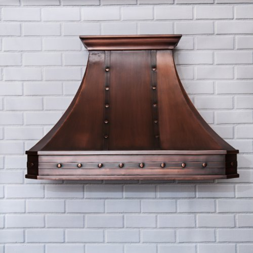 World CopperSmith Classic Copper Range Hood 30