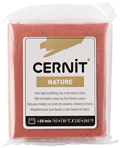 Cernit Modelliermasse Backofen Nature Sienna 62 g