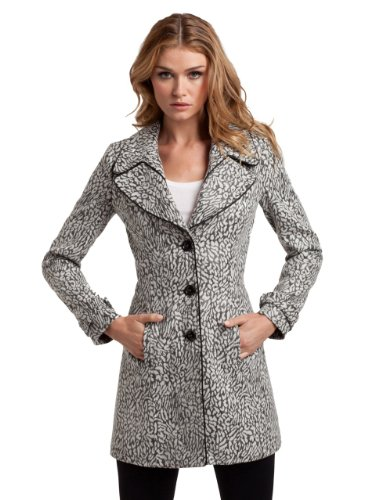 GUESS by Marciano Jacquard Coat