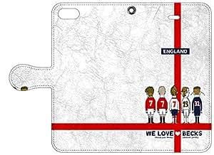soccer junky iPhone 6s / 6 (4.7インチ)専用Folio 手帳型ケース WE LOVE BEKS SJFL002